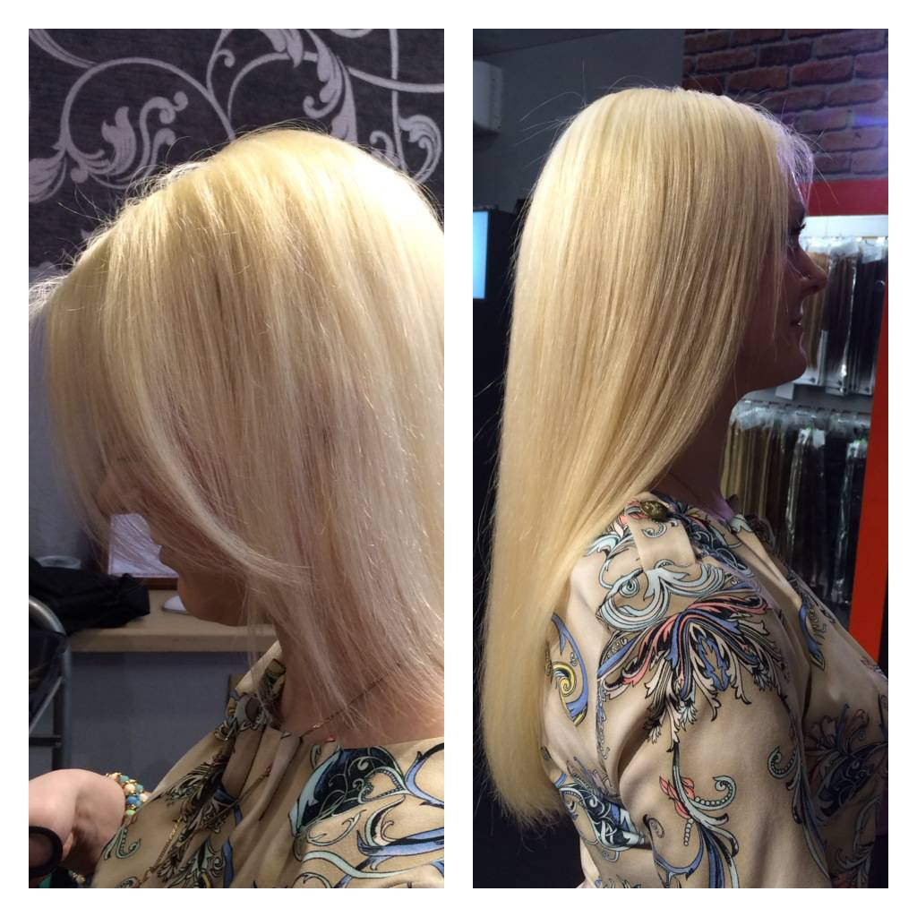 Наращивают ли волосы на короткую стрижку