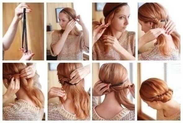 Какие причёски можно сделать на день рождения самой