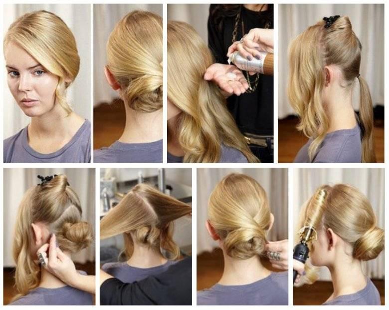 Фото прически на средние волосы как сделать
