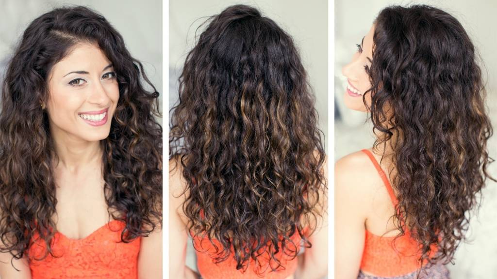 Укладка волос домашних условиях на кудрявых волосах