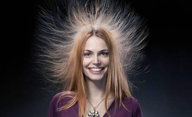 Как сделать так чтобы волосы не электризовались в домашних 208